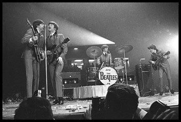 The Beatles with Vox AC50s, Washington Coliseum