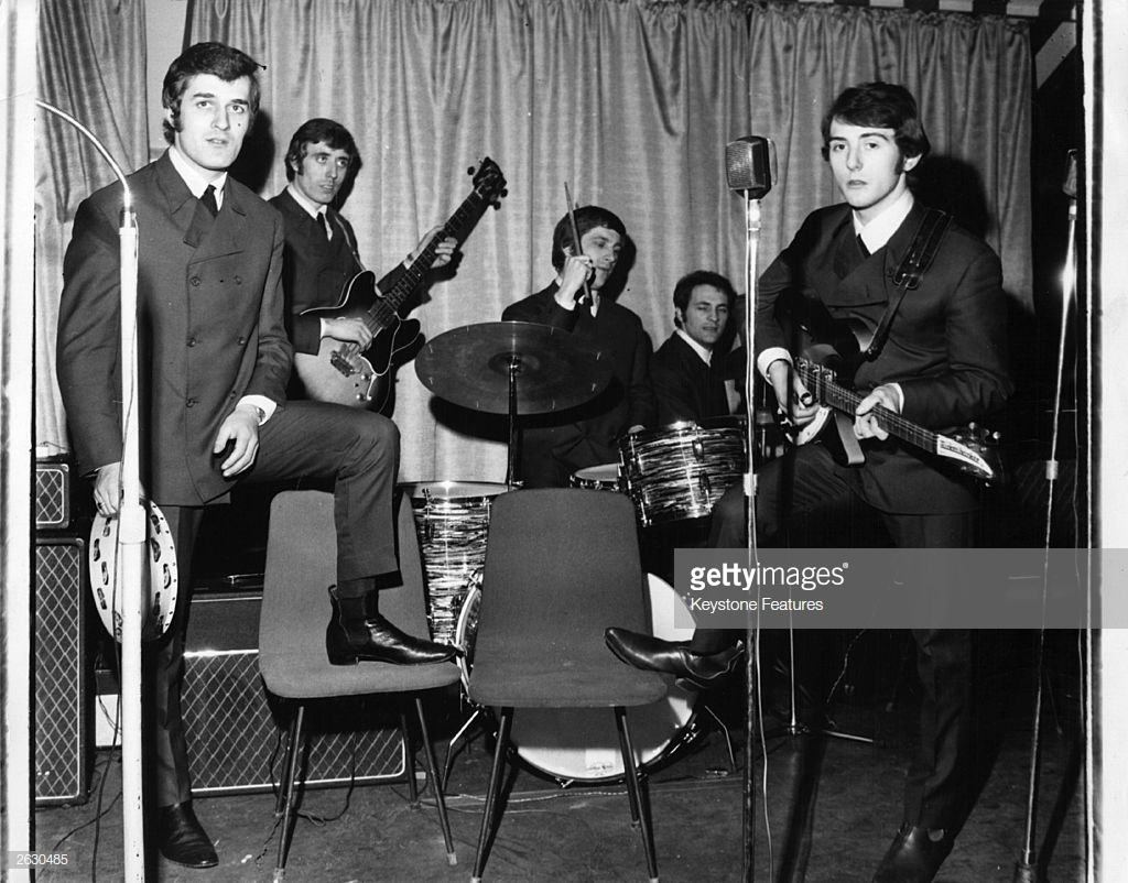 The Moody Blues, September 1964
