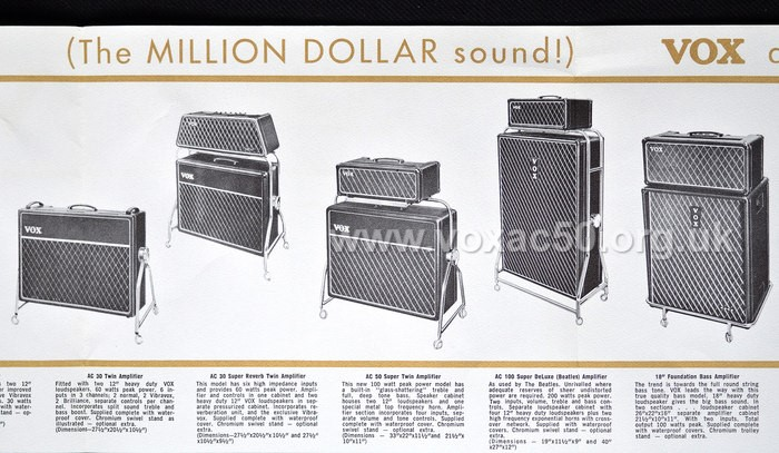 Thomas Organ advert, early 1965