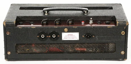 Early Vox AC50, back