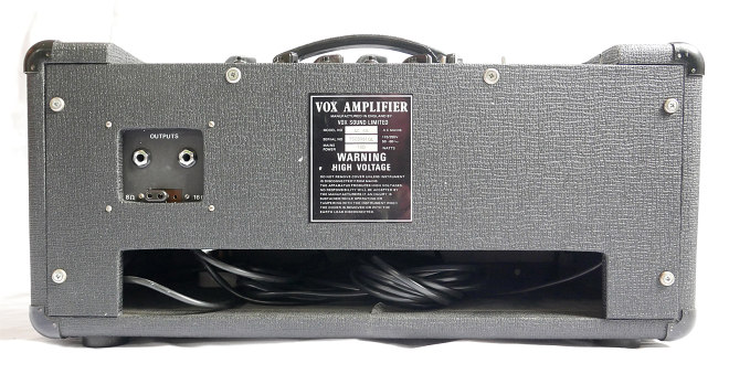 A Vox Sound Limited AC50 amplifier from 1975