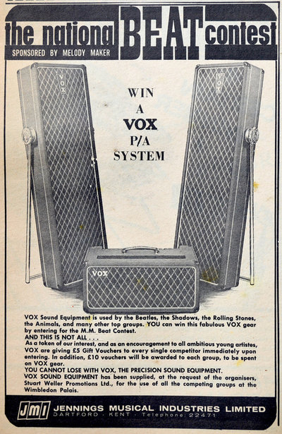 Vox AC50, large box, serial number 1578