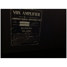 Vox AC50, large box, serial number 1594
