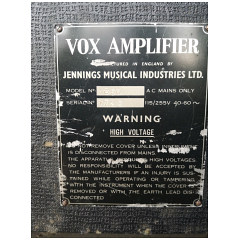Vox Ac50, large box, serial number 1723