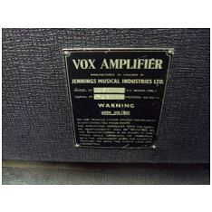 Vox AC50, large box, serial number 1725