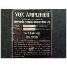 Vox AC50, large box, serial number 1727