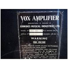 Vox AC50, large box, serial number 2072