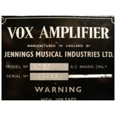 Vox Ac50, large box, serial number 2269