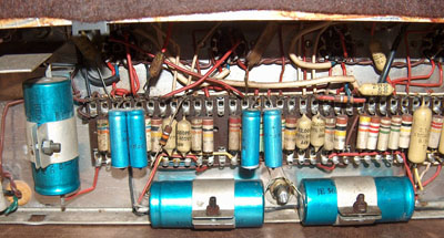 Vox AC50 - overview of amps made in later 1964 and early 1965