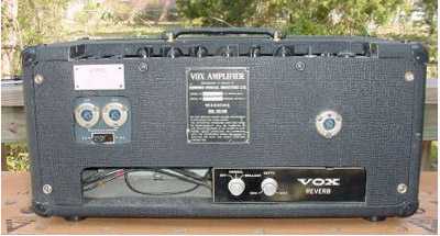 Vox AC50s with reverb
