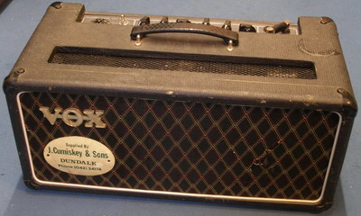 Vox AC50 supplied by Cumiskey and Sons, Dundalk