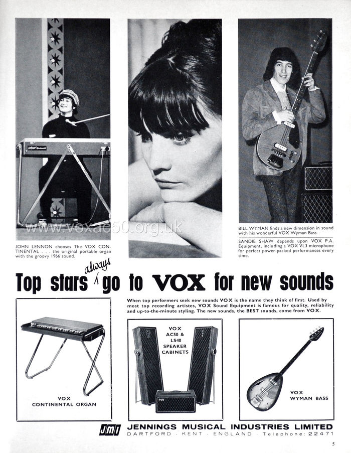 Beat Instrumental magazine, March 1966