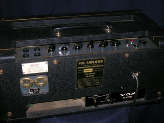 Vox AC50 with special reverb unit