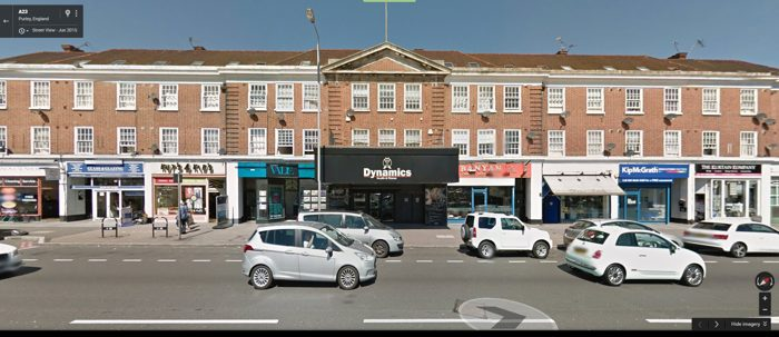 Triumph Electronics, number 118 Brighton Road, Purley