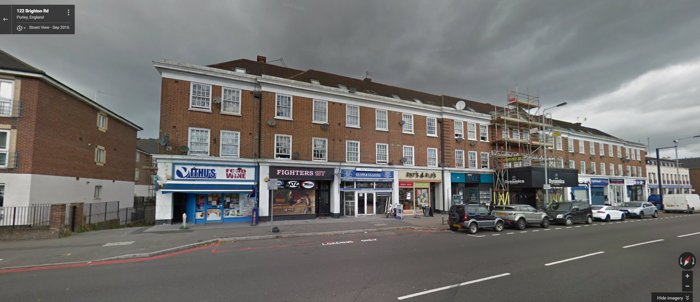 Triumph Electronics, number 122 Brighton Road, Purley